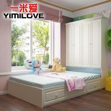 韩式榻榻米床双人床 现代简约1.2米1.5米主卧收纳储物床图片