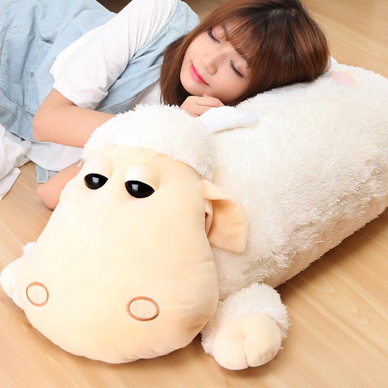 毛绒玩具羊驼公仔 可爱卡通洋娃娃布偶 创意睡觉抱枕女孩