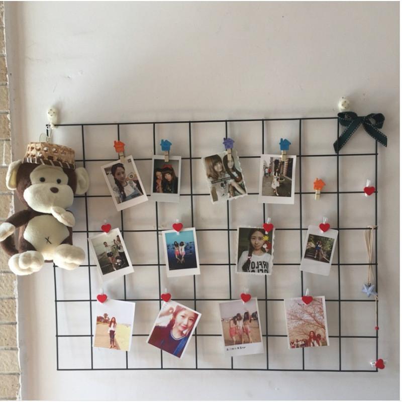 创意网格照片墙装饰 定制拍照背景墙客厅卧室壁饰挂件