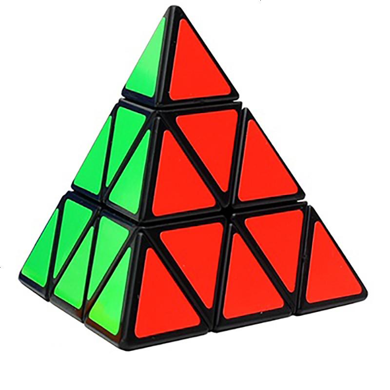 异形 魔方 三阶魔方金字塔3阶五魔方镜面比赛顺滑玩具
