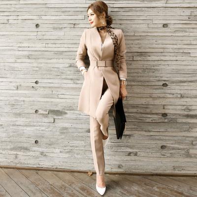 女式西装外套白领ol职业套装女秋装新款时尚气质两件套装长裤显瘦