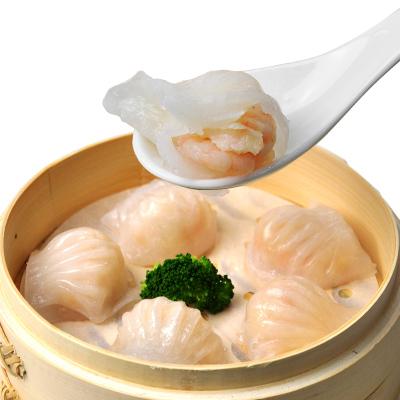 鲜聚汇 广式水晶虾饺300g*3包装广东港式点心虾饺皇生鲜速冻水晶虾饺