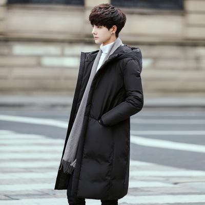 度度兔(Dudutu)冬装新款羽绒棉服男士中长款情侣装保暖连帽外套棉衣男潮