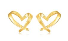 爱神的印记 简洁的线条 适合日常佩戴