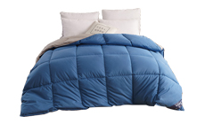 秋冬新品 优质羽丝绒 防羽布面料防钻毛 蓬松度好 升级保暖