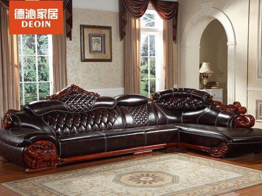 欧式沙发 真皮沙发