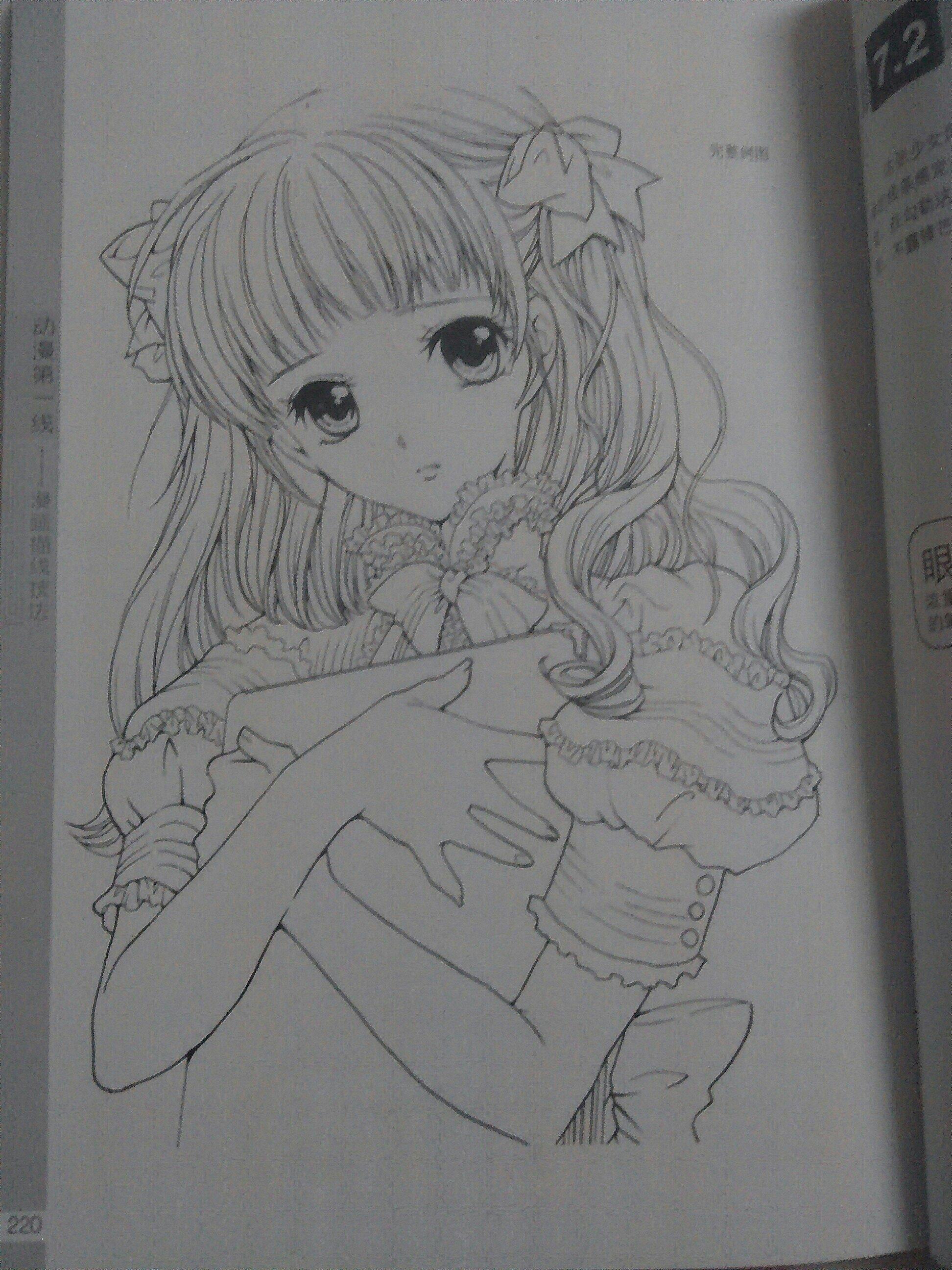 漫画图片 素描 手绘