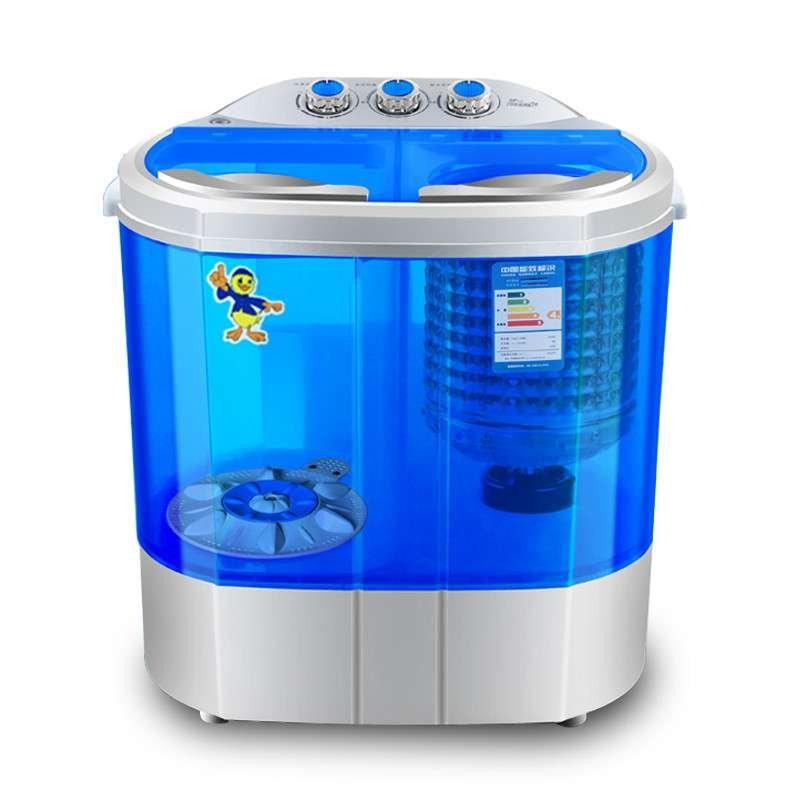 中山小鸭新款xpb38-1288s半自动双桶双缸迷你洗衣机