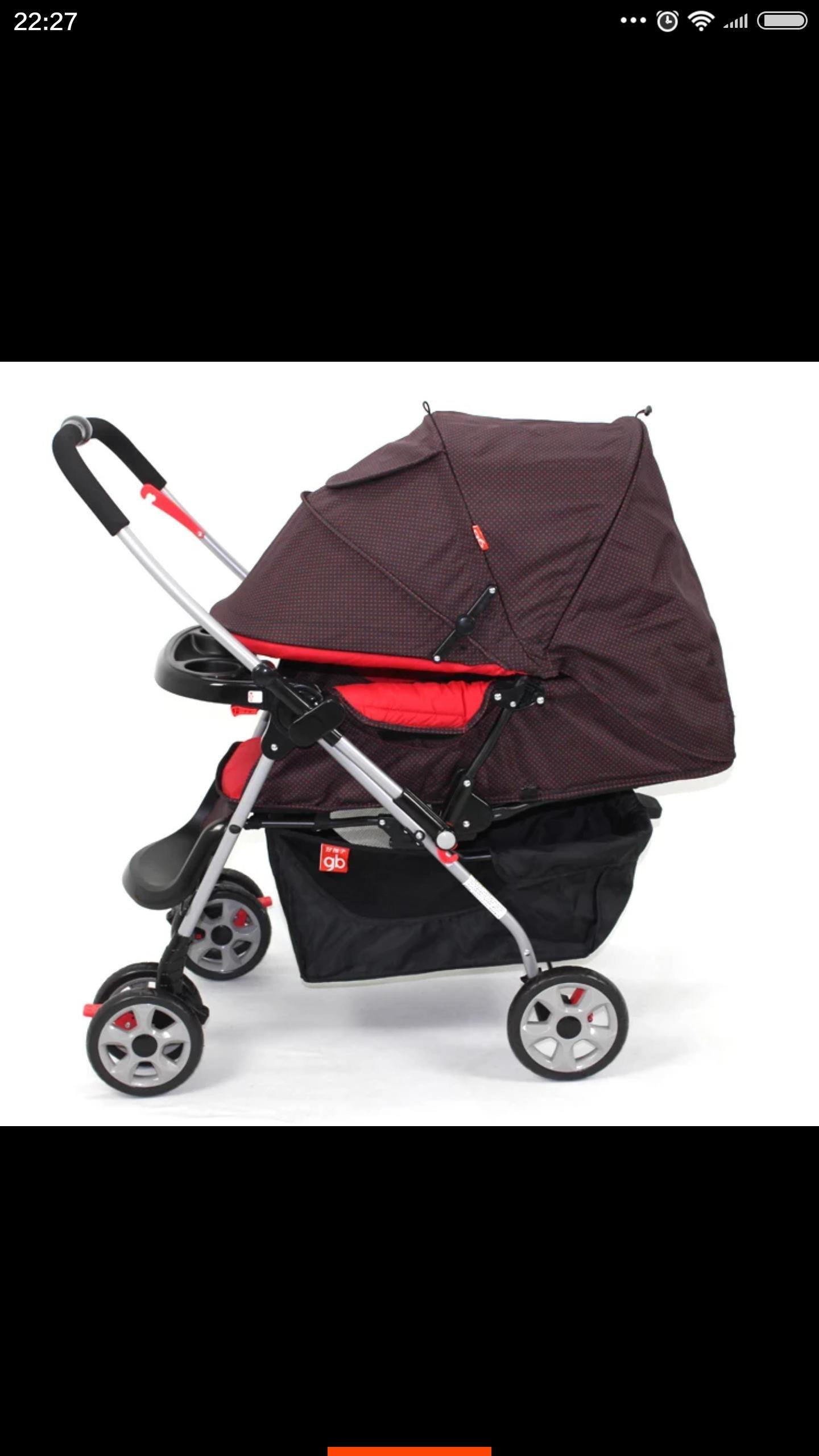 二手好孩子婴儿推车 可躺可坐轻便折叠c309-h全棚