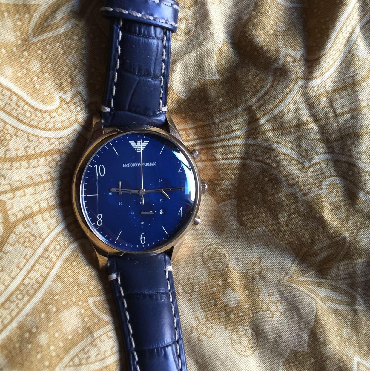 阿玛尼手表图片