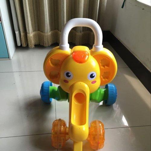 澳贝婴儿可爱大象手推车学步车