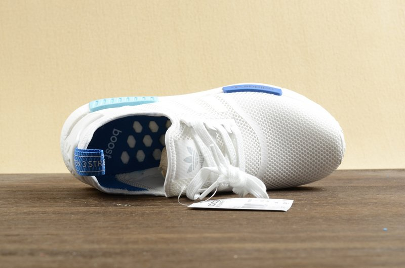 阿迪达斯女鞋跑鞋透气轻便耐磨adidas休闲鞋潮鞋白色nmd圣保罗女款
