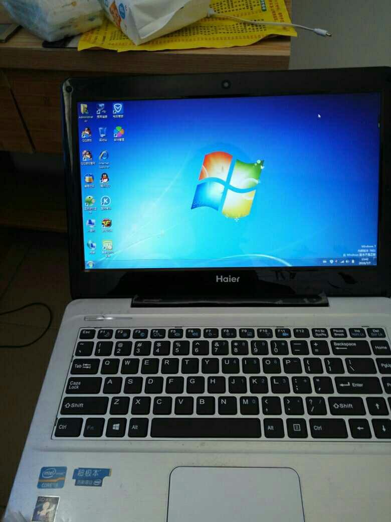 电脑进入系统时重启_海尔笔记本电脑重装系统时按哪个键进入?-