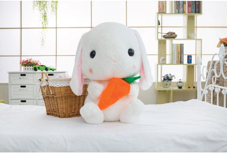全新正品 可爱垂耳兔子公仔 毛绒玩具 玩偶 女生生日礼物