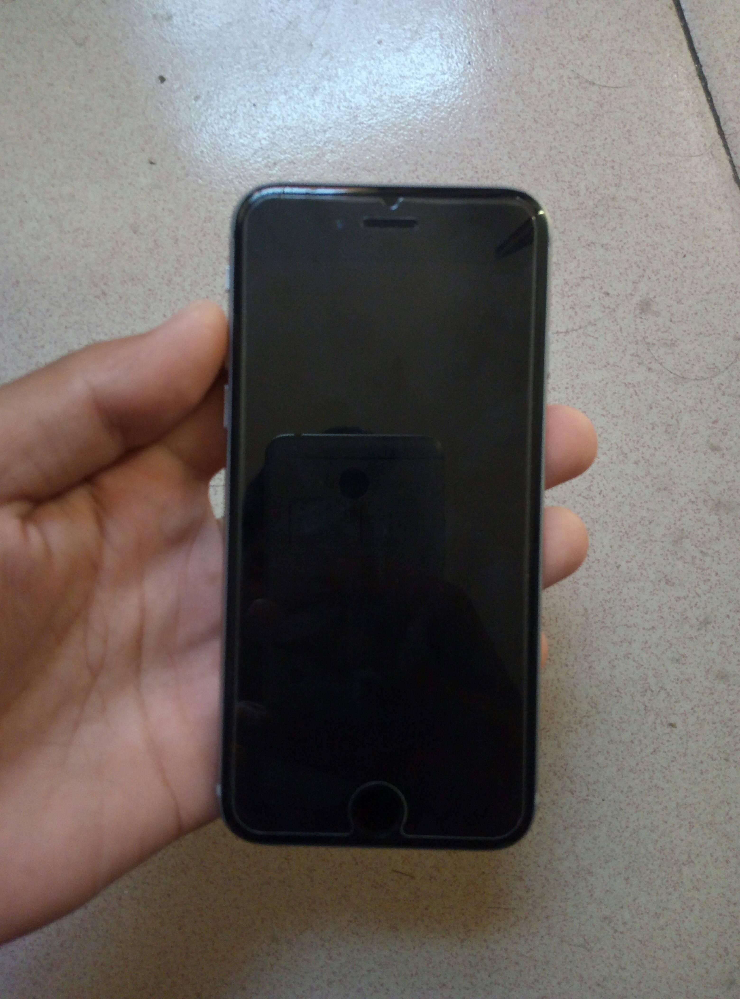 二手数字iphone6s黑色国行64g转让出售_安阳二手手机安卓苹果显示电量图片