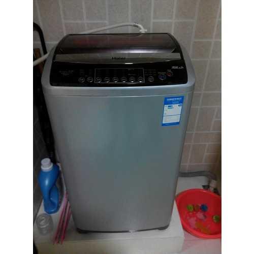 二手海尔变频双动力洗衣机交易