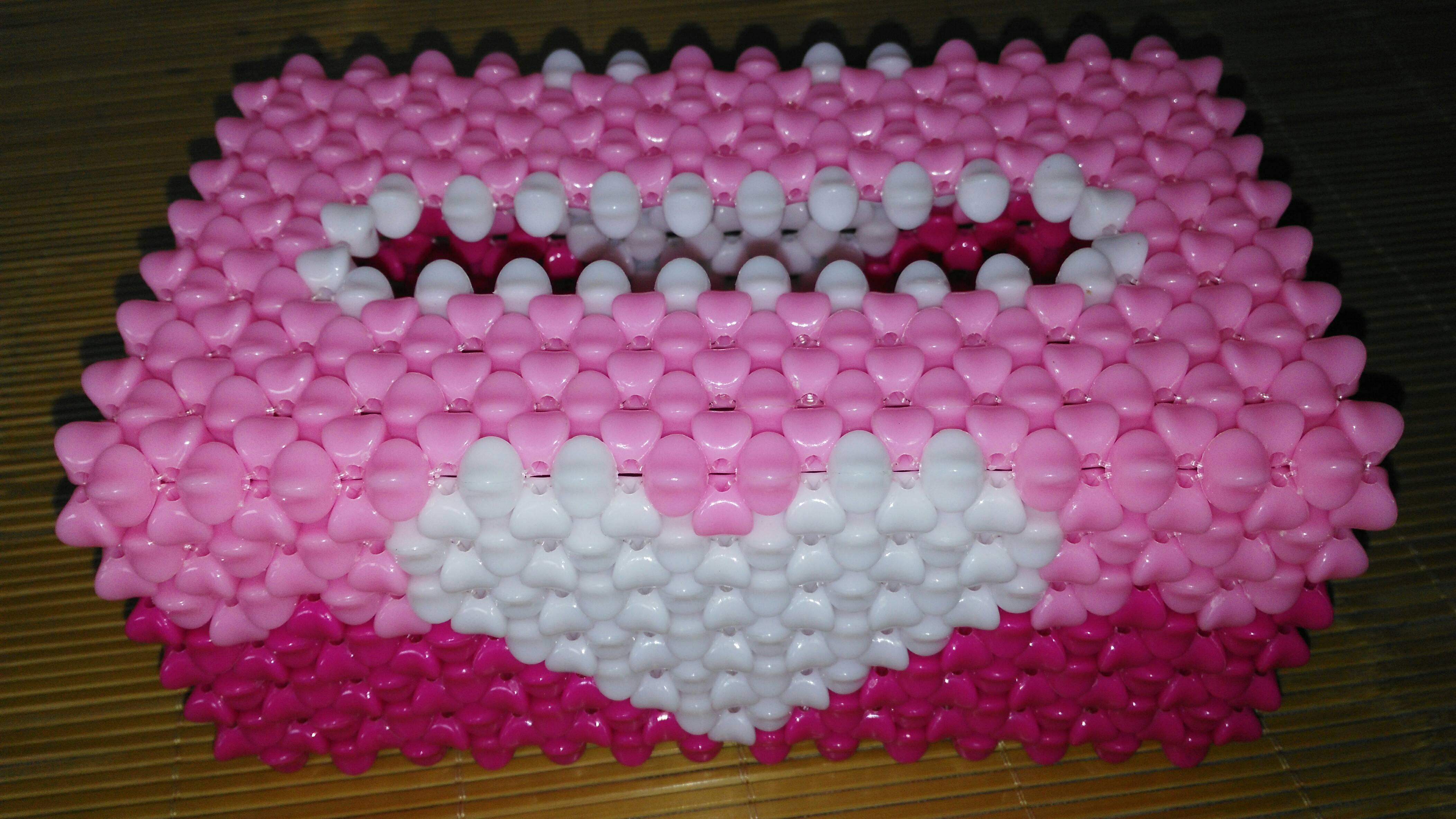 串珠纸巾盒