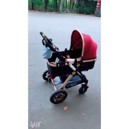 belecoo贝丽可婴儿推车夏季可座躺轻便折叠减震高景观宝宝婴儿车