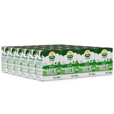 Arla 爱氏晨曦 全脂牛奶 200ml 24盒 普通装 *2件 +凑单品 90.7元包邮(双重优惠)