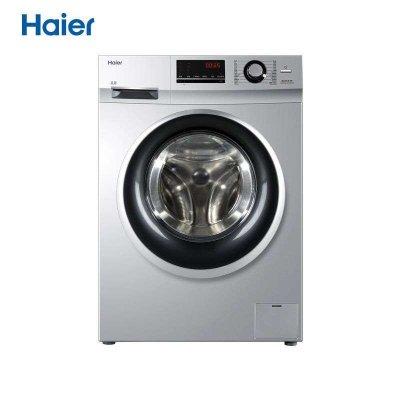 海尔 (Haier) XQG100-BX12636 10公斤变频滚筒洗衣机(银灰色)