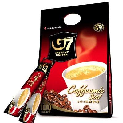 G7 COFFEE 中原咖啡 三合一速溶咖啡 100条 共1.6kg *2件