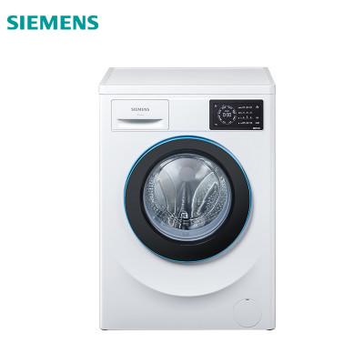 SIEMENS 西门子 XQG70-WM10L2607W 7公斤 变频 变速节能洗 无旋钮触控面板 滚筒洗衣机(白色)