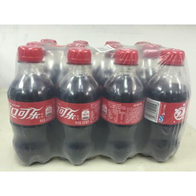 自提免运费:15.9元  可口可乐(Coca-Cola)汽水 300ml*12(整箱)
