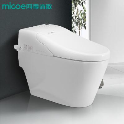MICOE四季沐歌智能马桶座便器喷射虹吸式卫生间坐厕抽马桶静音防臭地排一体式智能座便器带储水箱功能300MM 四季沐歌(MICOE)坐便器M-ZN112X