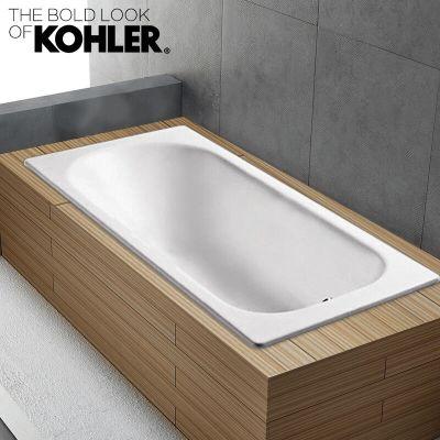 KOHLER 科勒 K-941T-GR-0 索尚 1.5m铸铁浴缸 +凑单品