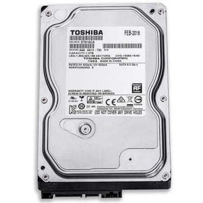 东芝(TOSHIBA)1TB 7200转32M SATA3 台式机械硬盘(DT01ACA100)