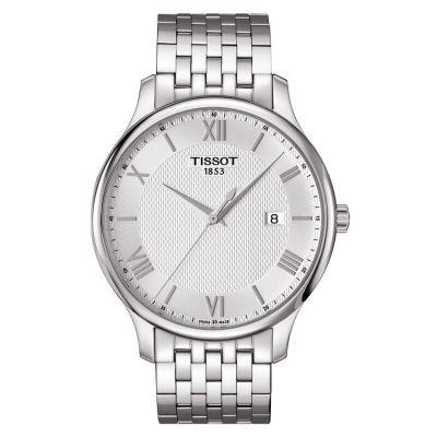 TISSOT 天梭 Tradition 俊雅系列 T063.610.11.038.00 男士时装腕表 1000元