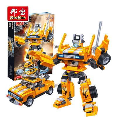 BanBao 邦宝 小颗粒拼装积木玩具 金刚汽车人模型 将军 6303