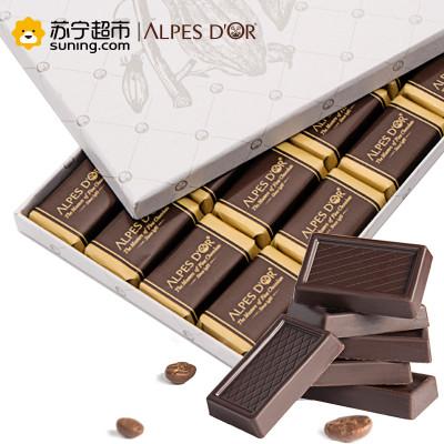 爱普诗 瑞士74%黑巧克力 106g *3件