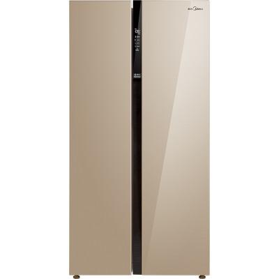 15日0点: Midea 美的 BCD-621WKPZM(E) 621L 对开门冰箱 3199元包邮(需49元定金)