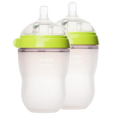 Comotomo 可么多么 婴儿奶瓶 250ml 两只装