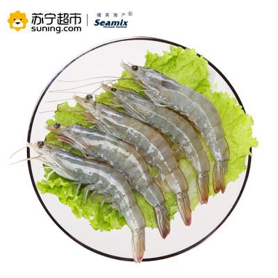 禧美海产 厄瓜多尔白虾 1.8kg 40-50只/kg