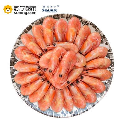 禧美 熟冻加拿大北极甜虾(带籽率70-80%) 500g/袋(45-60只) 57.8元,可满168打5折