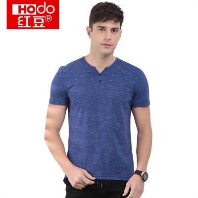 Hodo 红豆 HWB7T6449 男士T恤