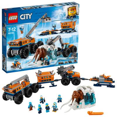 LEGO 乐高 城市组系列 60195 极地移动勘探基地