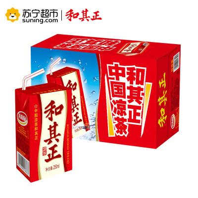 达利园 和其正 凉茶植物饮料盒装 250ml*24 整箱