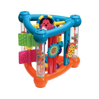 infantino 婴蒂诺 婴儿多功能三角翻转玩具 *2件