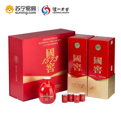 泸州老窖 国窖1573 52度 浓香型白酒 500ml*2瓶