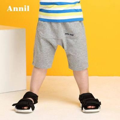 Annil 安奈儿 男童休闲短裤 40元包邮(需用券)