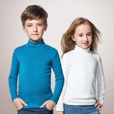 安奈儿 儿童纯棉高领打底衫