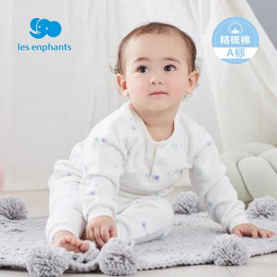 Les enphants 丽婴房 小童精梳棉保暖内衣
