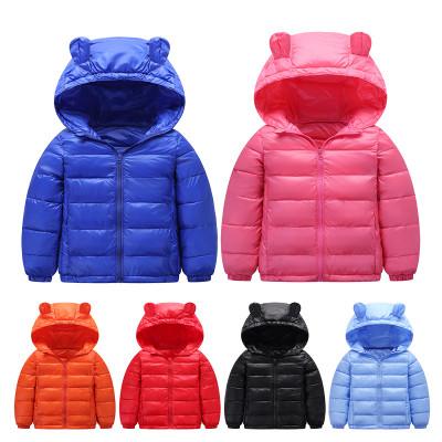 秋冬新款儿童羽绒棉服短款外套中小大童0~8岁宝宝保暖棉衣棉袄