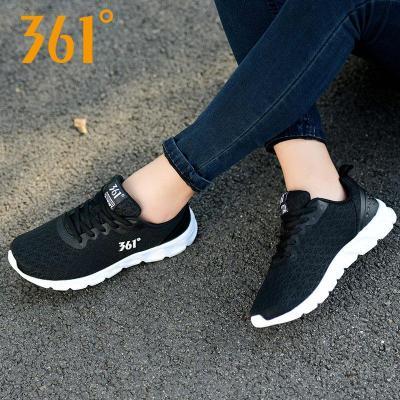 361°女鞋运动鞋女士网面春秋季新款透气网鞋361度泡沫跑步鞋轻便休闲鞋681732279