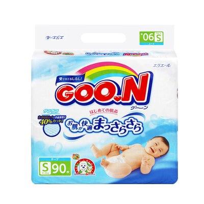 移动端: GOO.N 大王 维E系列 婴儿纸尿裤 S90片 70.9元包邮(需用券)