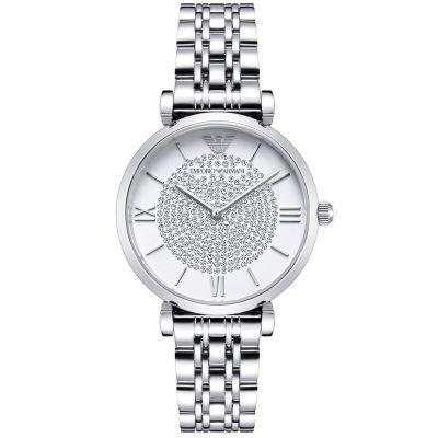 ARMANI 阿玛尼 镶钻满天星系列珍珠贝母石英女士手表 AR1925839元包邮(双重优惠)