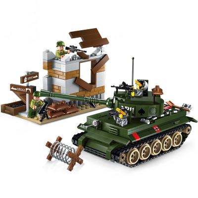 ENLIGHTEN 启蒙 军事系列积木 1711 坦克反攻战